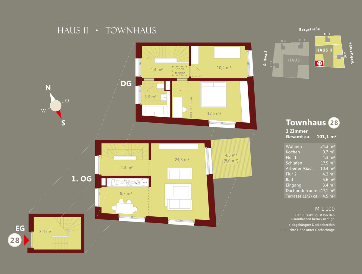 bergstra e haus 2 whg 28. Black Bedroom Furniture Sets. Home Design Ideas