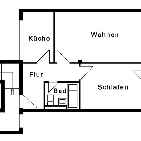 wohnung mieten. Black Bedroom Furniture Sets. Home Design Ideas